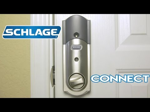 Schlage Connect Touchscreen Z-Wave Smart Deadbolt with Alarm Review