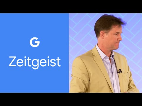 Leadership in the Technological Age - Sir Nick Clegg - Clip