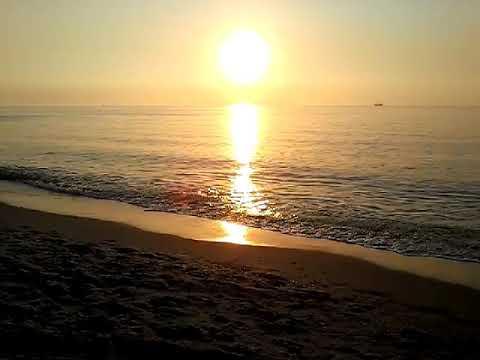 Sunset at Kijkduin Beach 🌇