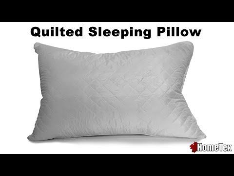 Hometex.ca Premium Quilted Sleep Pillow