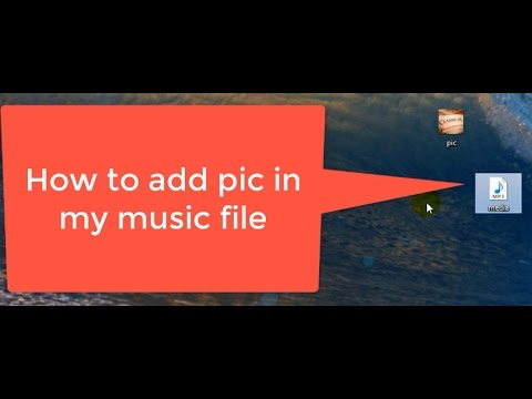 How to change pic in any music file (Hindi/Urdu)