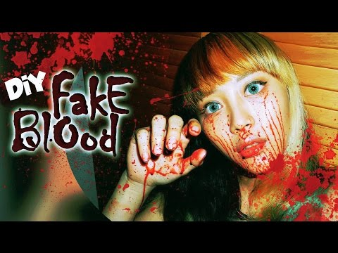 DIY: How to Make a Fake Blood (With Everyday Kitchen Ingredients)