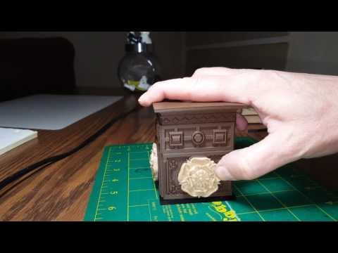 Tudor Secret Locking Box.