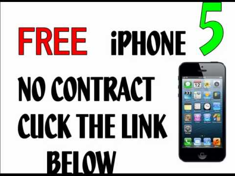 Free Apple  iphone 5 No Contract