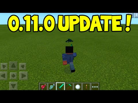 Minecraft Pocket Edition - 0.11.0 Update! - RELEASED! + New Features! + First Impressions!