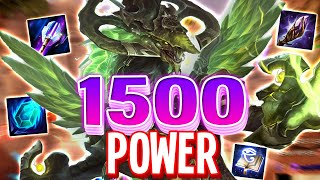 Tiamat with 1500 Power might be the MOST BROKEN Mage in SMITE!