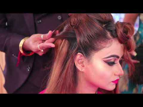 hair style new technique anurag makeup mantra,any enquiries call rohit 919920127706