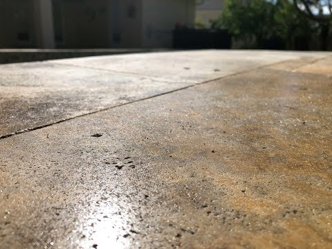 Are there sealer enhancers for travertine that won't make the stone more slippery-solutions