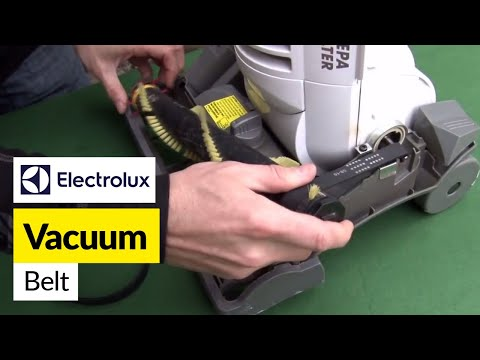 How to Replace a Vacuum Belt on an Electrolux Vacuum Cleaner