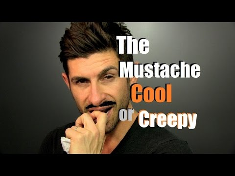 The Mustache | Cool, Creepy or Who Cares It's Movember | Ready, Set, Grow!