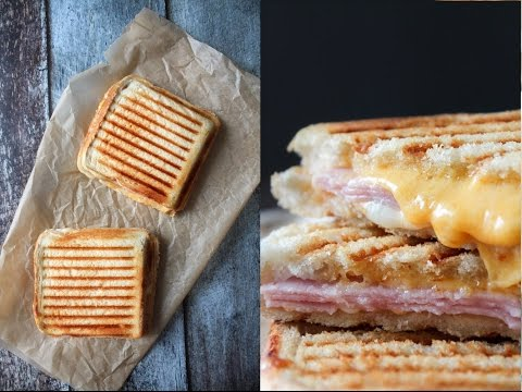 How To Make Chili Mayo, Ham And Cheese Toast (Grilled Cheese) - Fast Food Friday - By One Kitchen