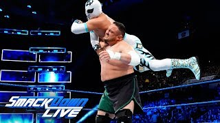 Samoa Joe debuts on SmackDown LIVE in the Superstar Shake-up: SmackDown LIVE, April 17, 2018
