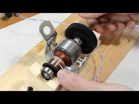 How DC motors and universal motors work