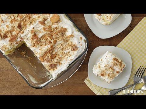 How to Make Easy Banana Pudding Cake | Dessert Recipes | Allrecipes.com