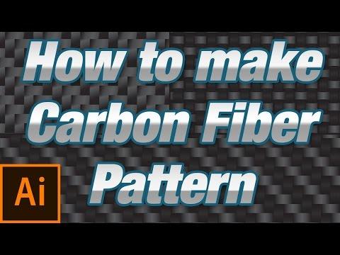 Make a Carbon Fiber pattern in Adobe Illustrator