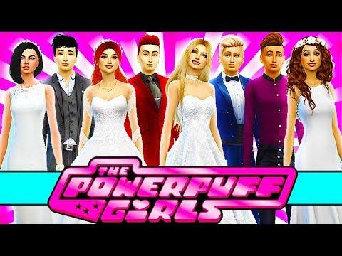 💘POWERPUFF GIRLS WEDDING!💒💕 The Sims 4 Powerpuff Girls: Power of Four | Ep 33
