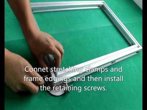 aluminium alloy frame in screen printing