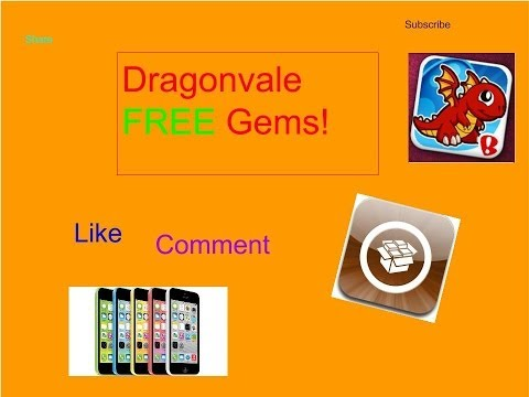HOW TO GET FREE GEMS ON DRAGONVALE! (Cydia)