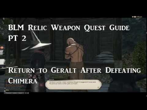 FFXIV: ARR BLM Relic Weapon Quest Guide Part 2