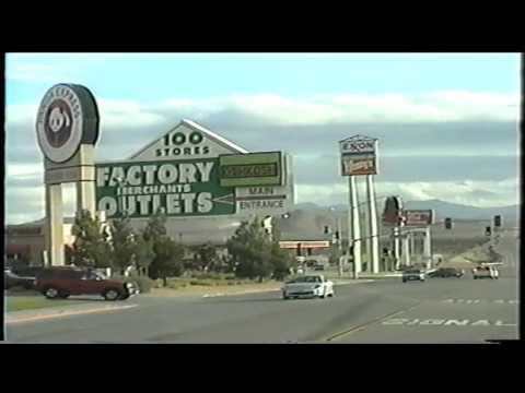 Greyhound Bus Trip. Los Angeles to Las Vegas