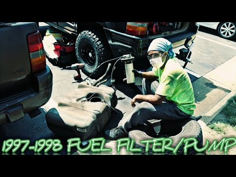 FUEL PUMP/FILTER REPLACEMENT (1997-1998 JEEP GRAND CHEROKEE)