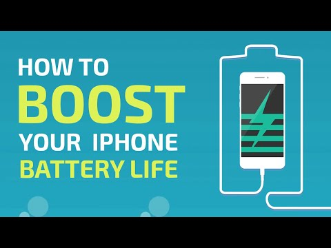 How to Boost Your iPhone Battery Life