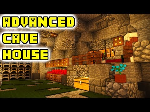 Minecraft Tutorial: Advanced Cave House Build