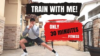 AT HOME FITNESS ROUTINE *25 MINUTES*