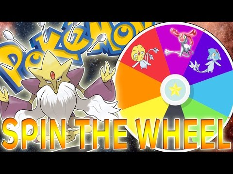 SPIN THE WHEEL OF PSYCHIC TYPES!! TEAM BUILDER CHALLENGE!!!