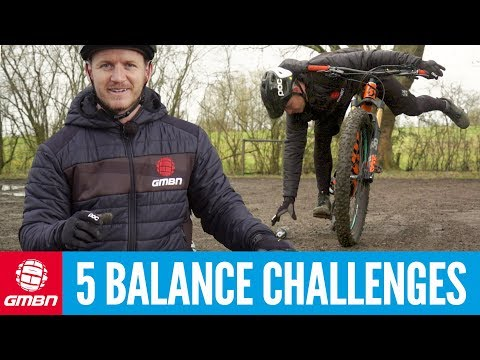 5 MTB Balance Challenges To Master | Mountain Bike Skills