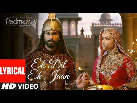 Xxx Mp4 Padmaavat Ek Dil Ek Jaan Lyrical Video Deepika Padukone Shahid Kapoor Sanjay Leela Bhansali 3gp Sex