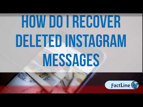 How Do I Recover Deleted Instagram Messages | Can you recover photos