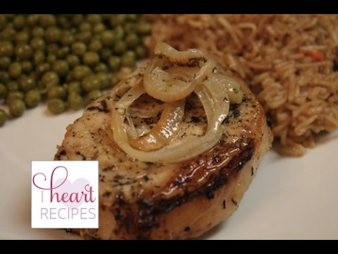 Lemon Garlic Pork Chops | I Heart Recipes