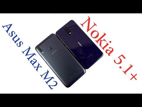 Asus ZenFone Max M2 vs Nokia 5.1 Plus Complete Comparison