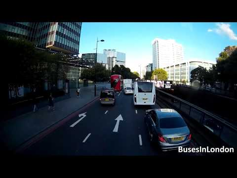 Route 205X Visual – Harrow Road to Aldgate – Stagecoach