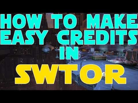 How to make Credits in SWTOR 2018!