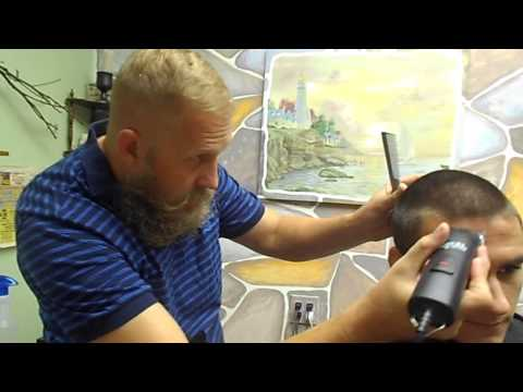 Buzz cut made simple with Ed The Barber
