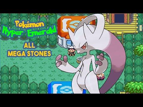 Pokémon Hyper Emerald 807:  Mega Stone Location Complete