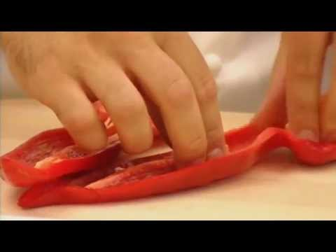 Stuffed red pimentos with ricotta - Market Kitchen
