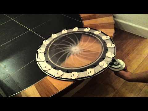 Mechanical iris window shade explained.