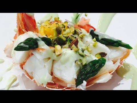 Recipe: Lobster with avocado dressing