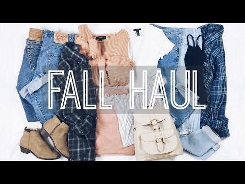 Fall Haul // Brandy Melville, Forever 21, Thrifted Finds!