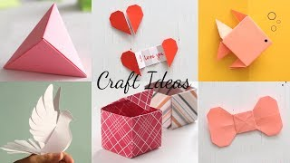 Download 6 Easy Paper Craft Ideas | Handcraft | Easy Origami Video