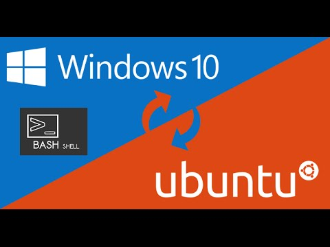 How to Install and Run the Ubuntu/Linux Bash Shell on Windows 10 (Anniversary Update)