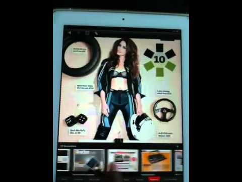 E-Magazines on iPad 2