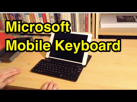 Microsoft Universal Mobile Keyboard Unboxing & Closer Look