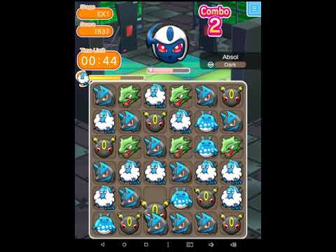 Starting to get Mega Absol(Pokemon Shuffle)