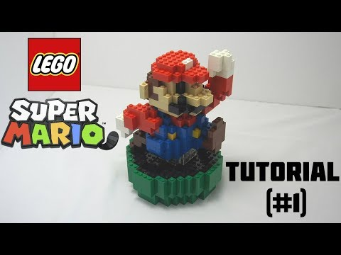 How To Build Your Own 3D Lego Mario! (tutorial #1)