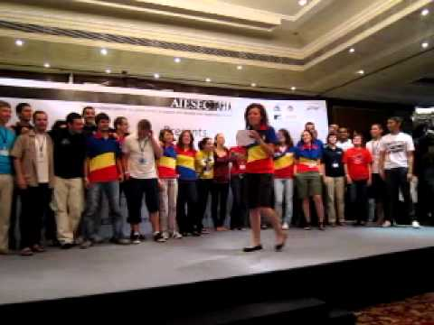 AIESEC IC 2010 Romania Roll Call