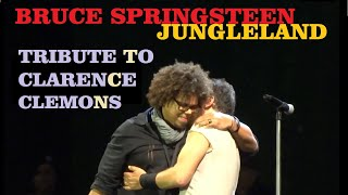 Bruce Springsteen Jungleland (first live version - tribute to Clarence Clemons  PRO audio) live 2012
